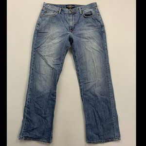 Lucky Brand Men's Blue 181 Relaxed Straight Leg Jn